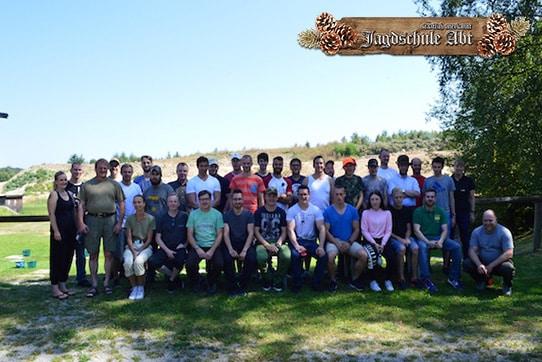 Gruppenfoto Sommer Jagdschule Abt